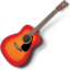 64x64px size png icon of Guitar 3