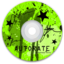 64x64px size png icon of CD Green