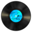 64x64px size png icon of Vinyl Blue