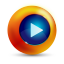 64x64px size png icon of play