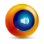 64x64px size png icon of sound on