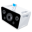 64x64px size png icon of Loud speaker 6