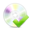 64x64px size png icon of Disk Ok