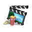 64x64px size png icon of Movie Clapper