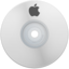 64x64px size png icon of Apple White