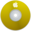 64x64px size png icon of Apple Yellow