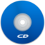64x64px size png icon of CD Blue