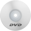 64x64px size png icon of DVD White