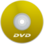 64x64px size png icon of DVD Yellow