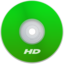 64x64px size png icon of HD Green