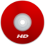 64x64px size png icon of HD Red