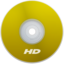 64x64px size png icon of HD Yellow
