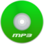 64x64px size png icon of Mp3 Green