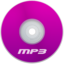 64x64px size png icon of Mp3 Purple