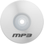 64x64px size png icon of Mp3 White