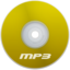 64x64px size png icon of Mp3 Yellow