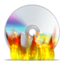 64x64px size png icon of cd burn