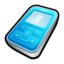 64x64px size png icon of Creative Zen Micro Blue