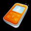 64x64px size png icon of Creative Zen Micro Orange