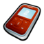 64x64px size png icon of Creative Zen Micro Red