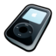 64x64px size png icon of IPod Video Black