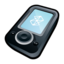 64x64px size png icon of Microsoft Zune Black