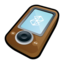 64x64px size png icon of Microsoft Zune Brown