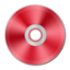 64x64px size png icon of Red Metallic CD