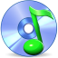 64x64px size png icon of Music disk SH