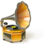 64x64px size png icon of Phonograph