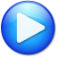 64x64px size png icon of Play Hot