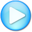 64x64px size png icon of Play Pressed