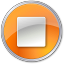 64x64px size png icon of Stop Normal Orange