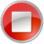 64x64px size png icon of Stop Normal Red