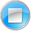 64x64px size png icon of Stop Pressed Blue