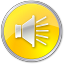64x64px size png icon of Volume Normal Yellow