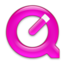 64x64px size png icon of QuickTime Pink