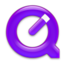 64x64px size png icon of QuickTime Purple