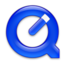 64x64px size png icon of QuickTime Royal Blue