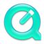 64x64px size png icon of QuickTime Turquoise