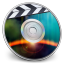64x64px size png icon of iDVD Eclipse