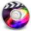 64x64px size png icon of iDVD Galaxy