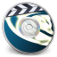 64x64px size png icon of iDVD Light Angel 02