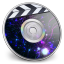 64x64px size png icon of iDVD Plasma