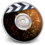 64x64px size png icon of iDVD Solar Flare
