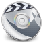 64x64px size png icon of iDVD Steel 01