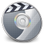 64x64px size png icon of iDVD Steel 02