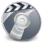 64x64px size png icon of iDVD Steel 03