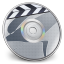 64x64px size png icon of iDVD Steel 04