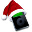 64x64px size png icon of Ipod black santaclaus